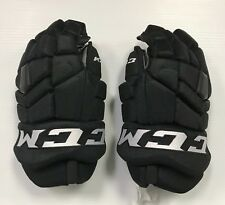 "Pro stock Ccm Tk Pro Sr 14"" (1 pair hockey gloves) New York Islanders Black"