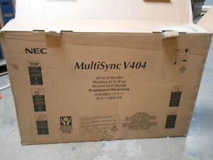 NEC V404 40-inch Monitor 1080p SAN DIEGO PICKUP Heavy Duty Commercial Display