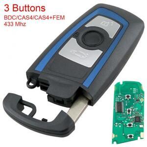 3 Buttons Remote Key Fob 433MHz Fit for BMW 5 7 F Series FEM / BDC CAS4 CAS4+
