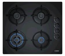 Bosch POH6B6B10 Gaskochfeld / 4 Flammen / schwarz / rahmenloses Design / 60cm