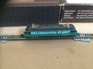 """Marklin Z gauge electric loco """"Gree """" DCC fitted and working"""