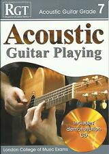 RGT Acoustic Guitar Playing Grade 7 Seven Book Exam Grade Book NEW FAST POST