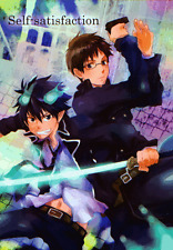 Blue Exorcist Ao no Doujinshi Comic Manga Yukio x Rin Self-satisfaction