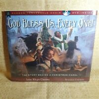 John Rhys-Davies ~ GOD BLESS US, EVERY ONE ~ Brand New Hardcover + DVD & Bonus
