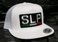 SAN LUIS POTOSI  MEXICO HAT WHITE MESH TRUCKER   SNAP BACK ADJUSTABLE NEW