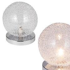 [lux.pro]® Tischleuchte Tischlampe [�˜14cm] Kugel Lampe Leuchte Wohnzimmer Chrom
