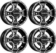 "Raceline A77 Mamba Front and Rear Wheel Rim 10"" 10x5 3+2 4/110 Polaris RZR170"