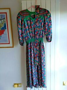 Diane Freis original georgette dress