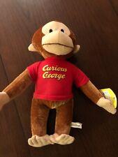New GUND Curious George Monkey Plush Stuffed Animal Toy NWT