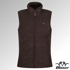 Blaser Vest Basic Fleece Vest Philipp Chocolate Brown (117041-112/604)
