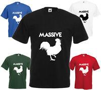 Massive Cock T-shirt Funny Gift Comedy Present Joke T Shirt Mens Christmas Xmas