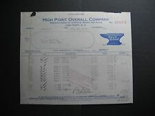 High Point Overall Company
