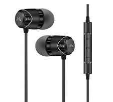 SOUNDMAGIC E11C In-Ear Headphones Earphones with Microphone & Remote (Black)