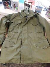 vintage Vietnam Era  OG-107 M-65 FIELD coat JACKET SMALL Regular  date 1969 #1