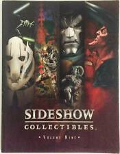 STAR WARS / MARVEL SIDESHOW COLLECTIBLE BOOK GUIDE  VOL.9 - RARE