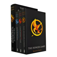 Suzanne Collins Hunger Games Collection 4 Books Set Ballad of Songbirds & Snakes