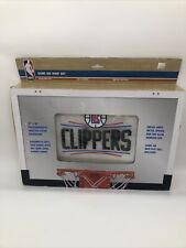 La Clippers Nba Game On Indoor Basketball Hoop & Ball Set