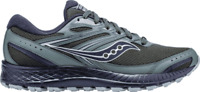 Men's Saucony Cohesion TR13 Trail Running Shoe Green/Black Engineered Mesh Size