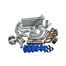 T4 T76 Turbo Intercooler Kit For Land Cruiser J80 1FZ-FE 1FZ 1FZFE