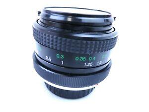 Vivitar Wide Angle Camera Lens 28mm 49mm