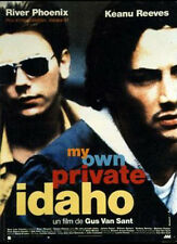 Affiche 120x160cm MY OWN PRIVATE IDAHO (1991) River Phoenix, Keanu Reeves BE