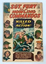 Sgt Fury And His Howling Commandos #18 Marvel Comic Book 1965