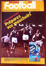 France Football du 5/2/1980; Coupe; Reims-Racing/ Spécial Gauchers
