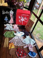 Vintage Hug Mixed Lot Toy Mattel Barbie Clothes & 2 Rare Barbie Cases Box Ballet