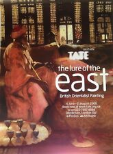 TATE BRITAIN Exh Poster: The lure of the east British Orientalist Painting  2008