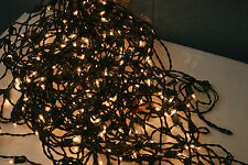 Christmas lights large box of used light in great condition Green Blue and Clear