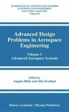 Advanced Design Problems in Aerospace Engineering Vol. 1 : Advanced Aerospace...