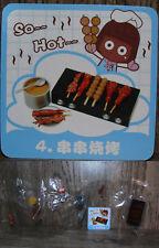 Miniature Re ment Orcara Store Canteen Caca Food Set 4 full