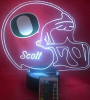 Oregon Ducks NCAA College Football Light Up Lamp LED Personalized Free w/ Remote