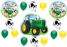 Tractor Birthday Party Balloons Decorations Farm Animal Cow John Deere Shower (M