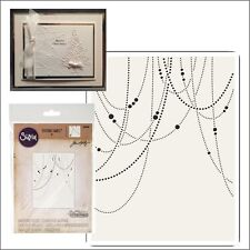 Sizzix embossing folders - Beaded Garland Tim Holtz folder 661006 Christmas