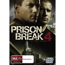 PRISON BREAK (COMPLETE SEASON 4 - DVD SET SEALED + FREE POST)