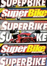 Various Issues of SUPERBIKE Magazine from July 1977 to April 2010