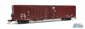 ATSF 60' DOUBLE DOOR Bx-166 BOXCAR BY BLM MODELS - HO-SCALE - FINE SCALE DETAILS