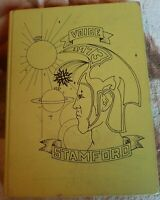 Vintage The Voice Stamford NY High School 1973 Yearbook