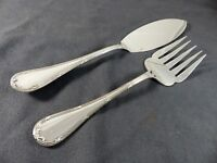 CHRISTOFLE RUBANS Fish Serving set Fork Knife / Service à poisson 2 pieces