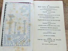 1881 TEXT BOOK OF FREEMASONRY MASONIC BOOK  (84)