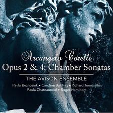 Arcangelo Corelli Chamber Sonatas op.2 & 4 The Avison Ensemble Linn Records 2CDs