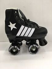 Epic Star Black Roller Skates Size Juvenile 13