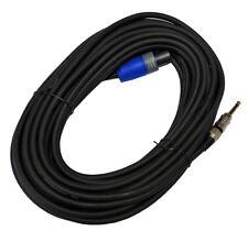20 m 2x2,5mm² PA Lautsprecherkabel mit NL2FX Stecker / Klinke