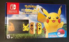 Nintendo Switch Pokemon Let's Go Pikachu Bundle Limited Edition NEW