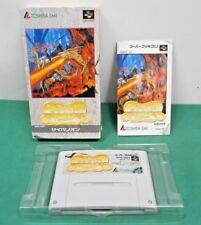 SNES -- SYVALION -- Boxed. popular shooter. Super famicom. Japan Game. 12784