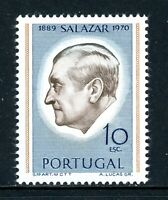 Portugal Scott #1105a MNH Pres. Antonio Salazar PERF 12.5x12 CV$25+
