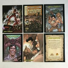Army Of Darkness set of 71 trading cards Dynamic Forces Bruce Campbell Evil Dead