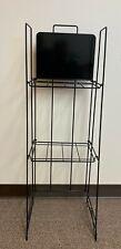 Quarterfold Literature,Newspaper,Maga zine, 1 Display Rack w 2 shelves (have 70)