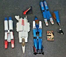 Vintage Hasbro G1 Transformers 1980's Action Figure Lot Parts Figures